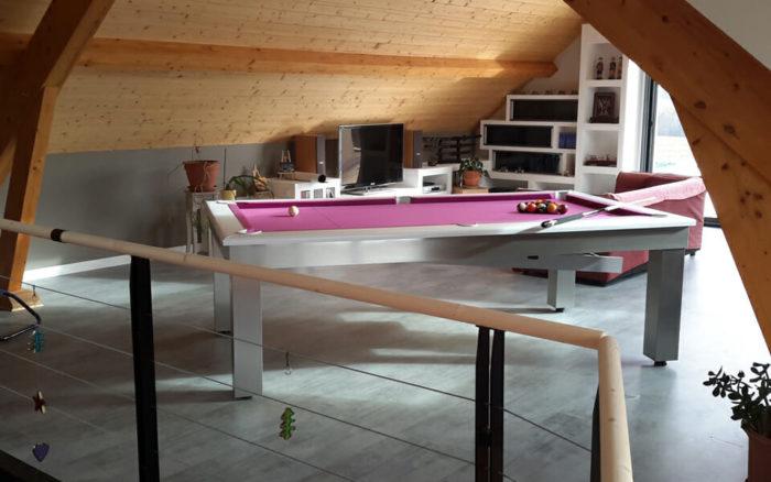 Billard-Lambert-table-Billards-OSL-Luxury-billards-tapis-rose