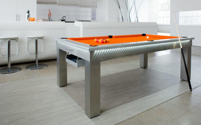 Billard-Lambert-table-tapis-orange-Billards-OSL-Luxury-billards