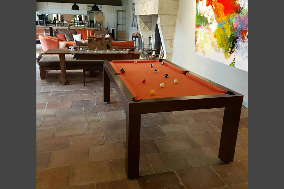 Billard-Pearl-OSL-Luxury-noir-tapis-orange