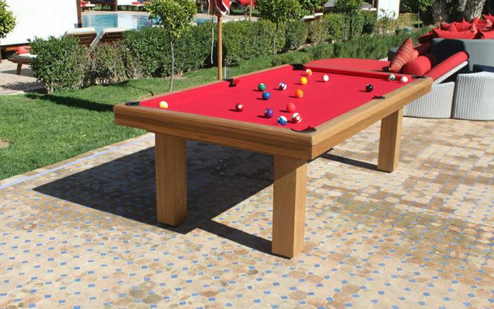 Billard-Teck-Billard-Outdoor-OSL-Luxury-Billard-bois-tapis-rouge