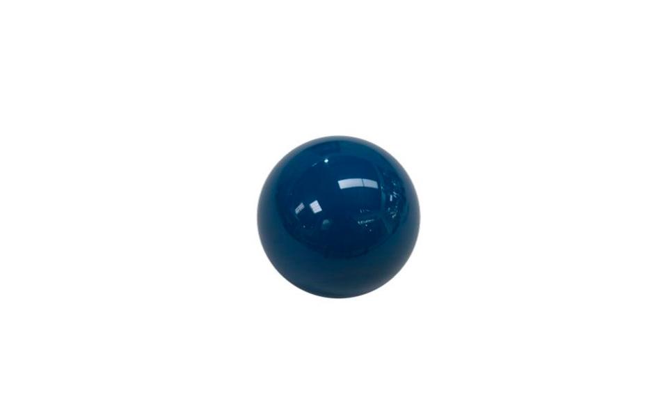 Bille billard bleu